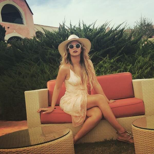 Ce week-end, Beyoncé nous a montré ses photos de vacances.