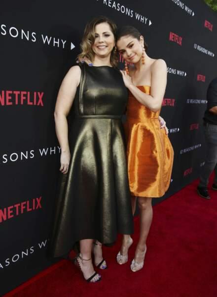 L'actrice était accompagnée de sa maman, la productrice Mandy Teefey