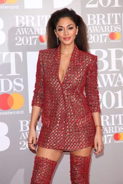 Nicole Scherzinger a fait sensation en cuissardes. Et sans jupe ?
