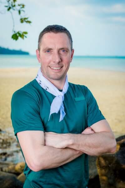 Yannick, candidat de Koh Lanta : l'île au trésor