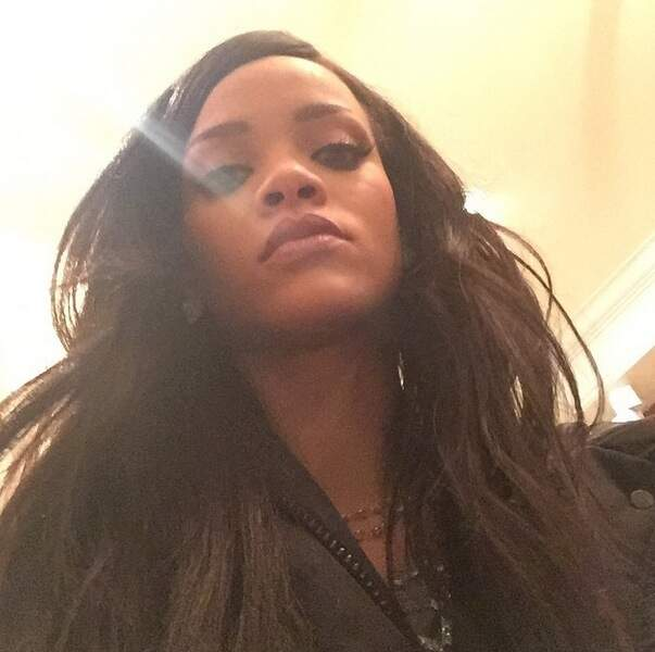 Rihanna aime bien s'immortaliser en photo, elle aussi