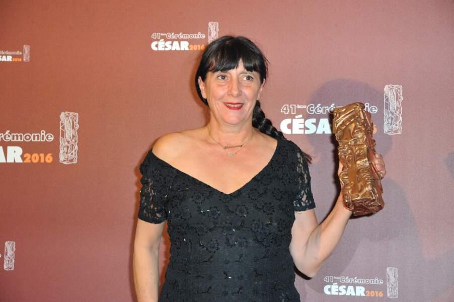 C'est Sylvie Pialat, productrice du film, qui est venue chercher la prestigieuse statuette