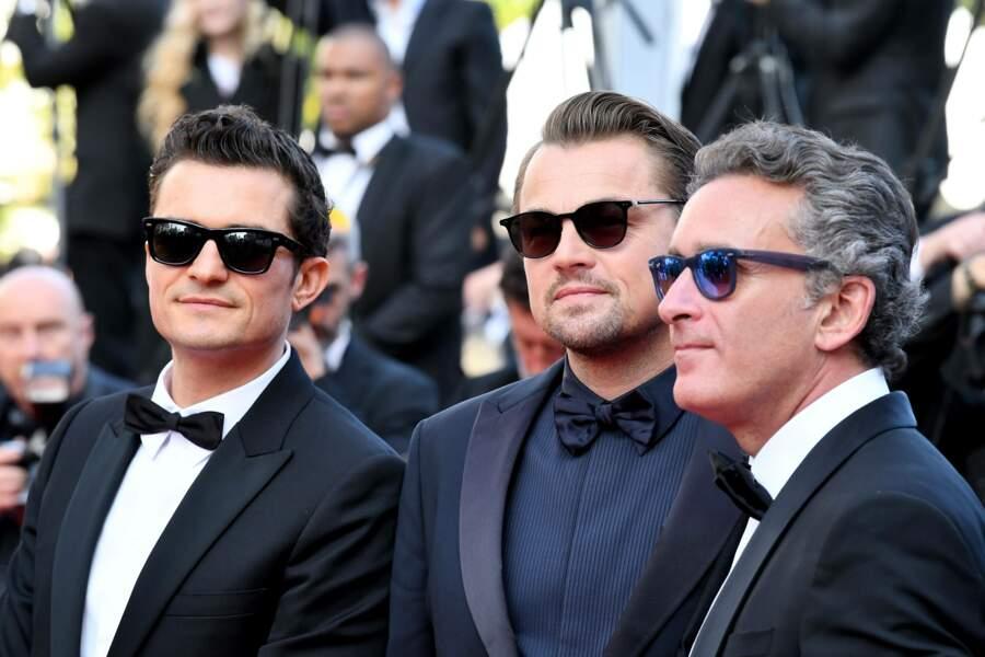 Puisque Brad Pitt n'est pas là, l'acteur est venu avec son copain Orlando Bloom