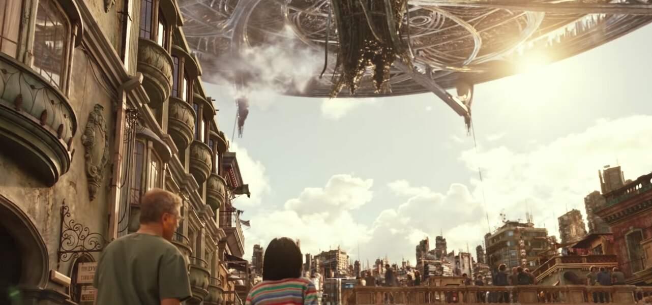 La ville d'Iron City est divisée en deux mondes : les humains vivant dans une cité spatiale protégée ...