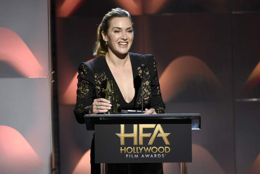 Autre gagnante de la soirée : Kate Winslet