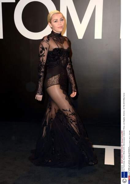 Pour une fois, Miley Cyrus était très couverte !