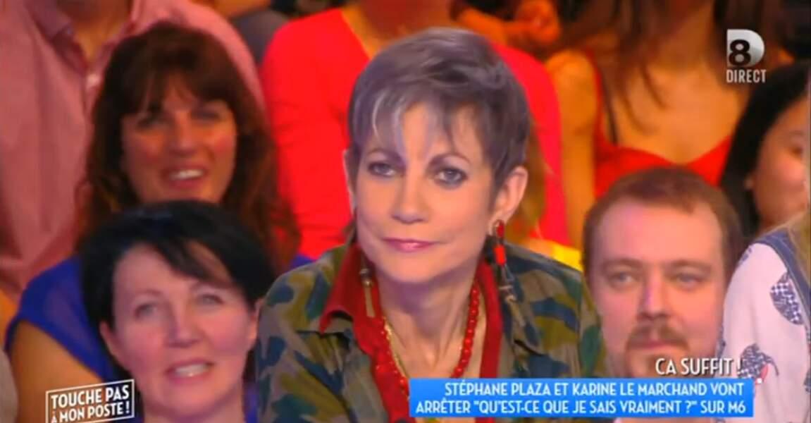 Isabelle Morini-Bosc aime la veste militaire...
