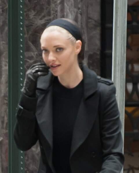 Tiens tiens… Amanda Seyfried change de look. Serait-elle pourchassée ?