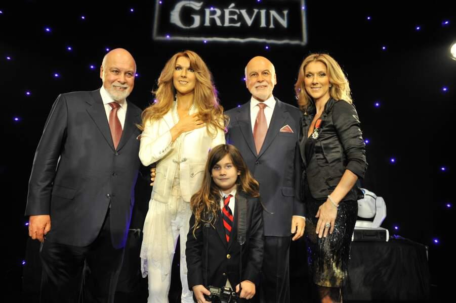 En 2008, Céline Dion et Rene Angelil avaient posé avec leur double de cire