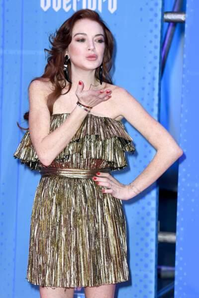 Lindsay Lohan avait elle aussi fait le déplacement