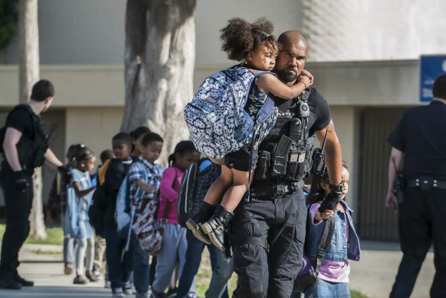 """Pour le sergent Daniel """"Hondo"""" Harrelson (Shemar Moore), une des missions essentielles est de sauver des vies"""