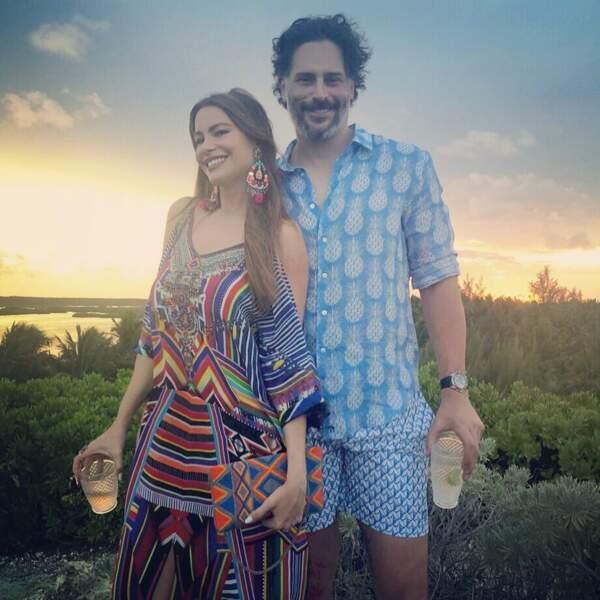 Sofia Vergara et Joe Manganiello aussi s'offrent du bon temps