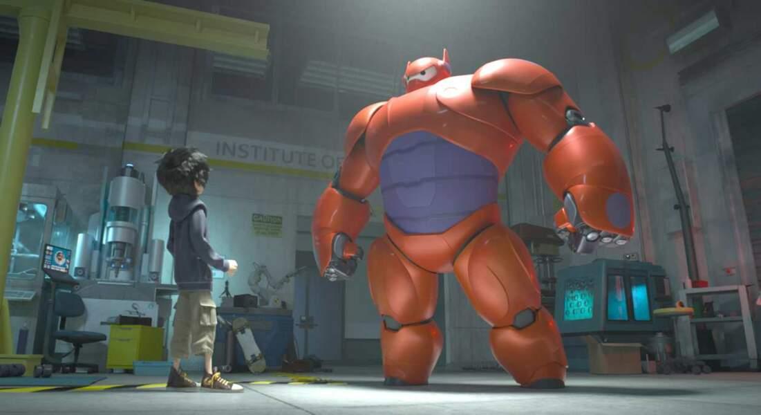 Hiro et Baymax sont prêts pour la bataille !