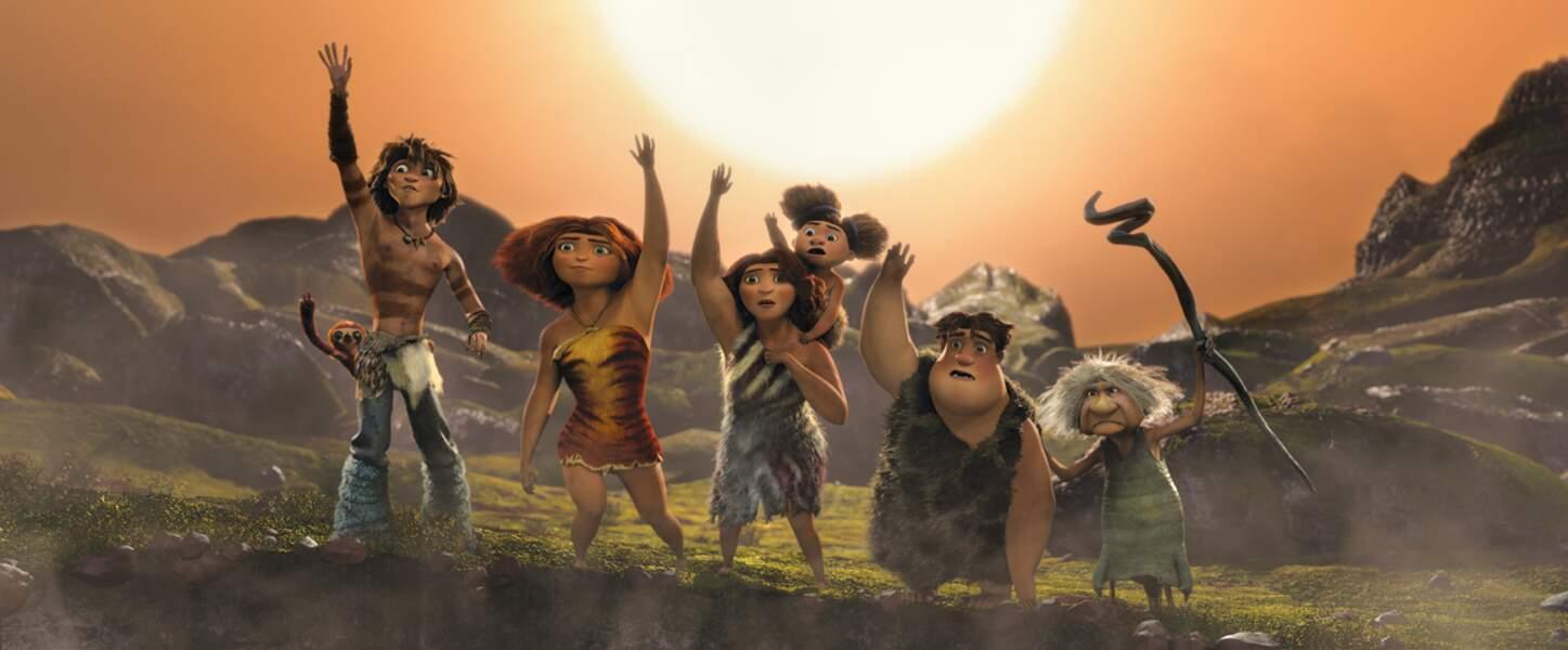 Ce jour sort sur les écans Les Croods, épopée cocasse d'une famille préhistorique qui doit évoluer pour survivre