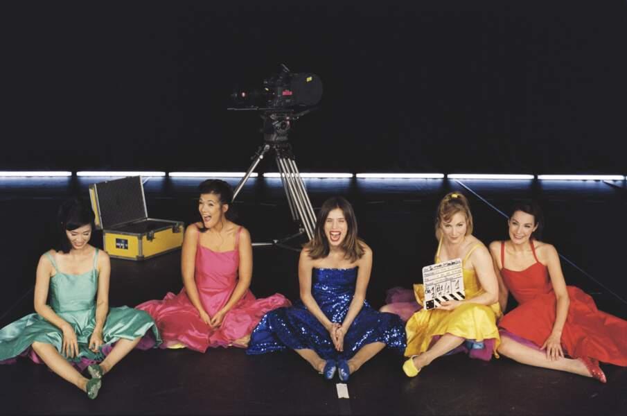 Casting féminin au top dans Le bal des actrices (2009)