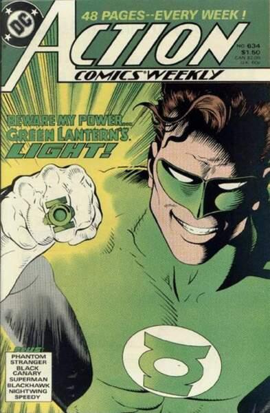 Green Lantern évoque toute une série de personnages extraterrestres qui tirent leur force d'un anneau vert...