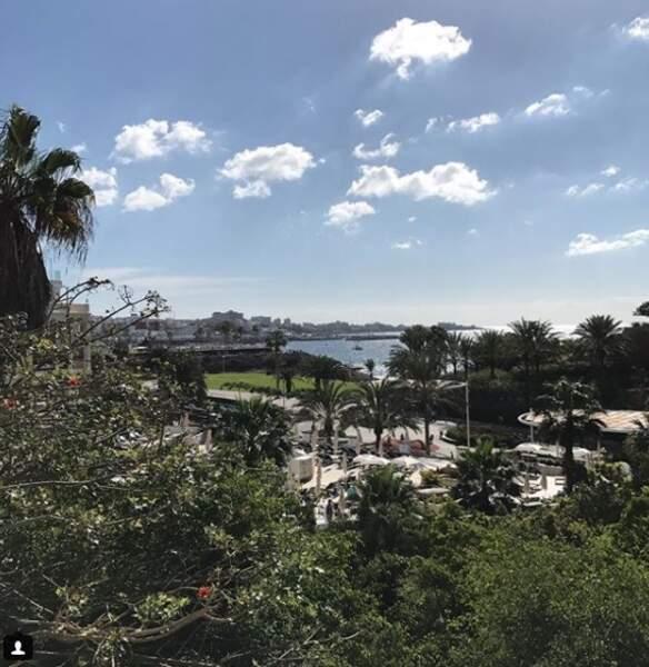 Dominic Thiem a lui fait preuve d'originalité et a opté pour Tenerife