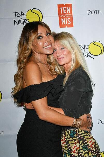 Laquelle a retrouvé sa copine Cathy Guetta !