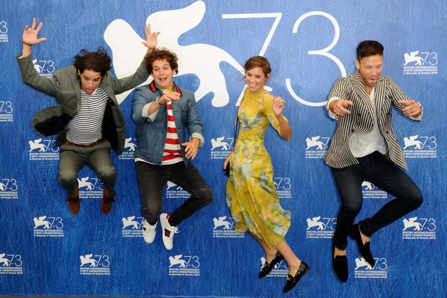 L'équipe du film italien L'Estate Addosso s'envoie en l'air