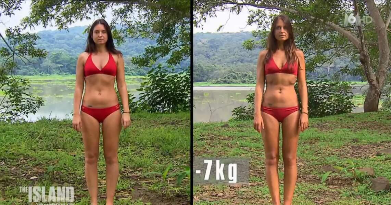 Hélène, la leader du groupe des filles, a perdu 7 kilos