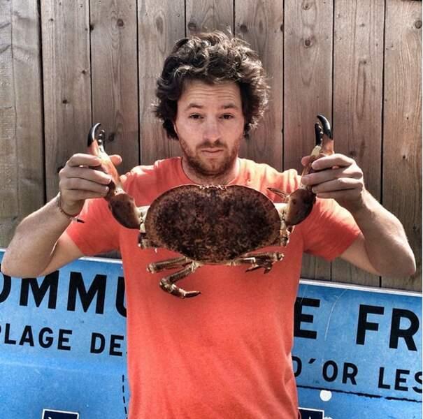 Et sinon, la news de la semaine : Jean Imbert a sympathisé avec un crabe !