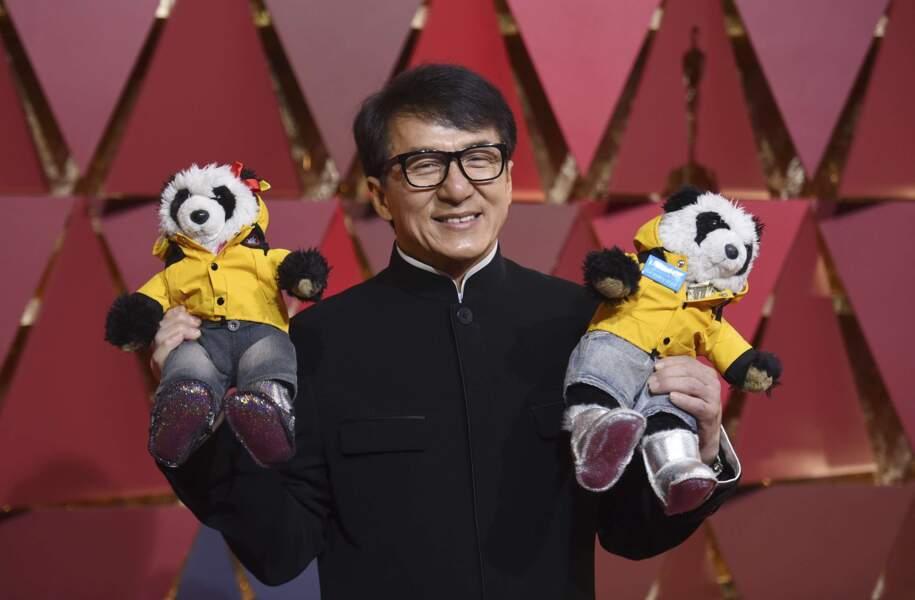 Jackie Chan est resté un grand enfant