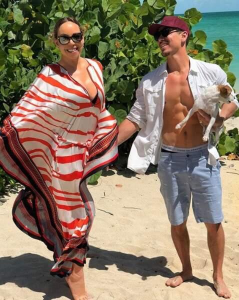 C'est toujours l'amour fou entre Mariah Carey et son danseur Bryan Tanaka.