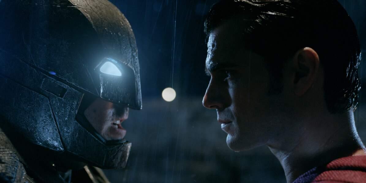 Ben Affleck face à Henry Cavill dans Batman v Superman : L'Aube de la justice (23/03)