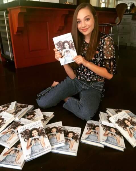 La danseuse Maddie Ziegler (vue dans les clips de Sia !), qui sort un livre...