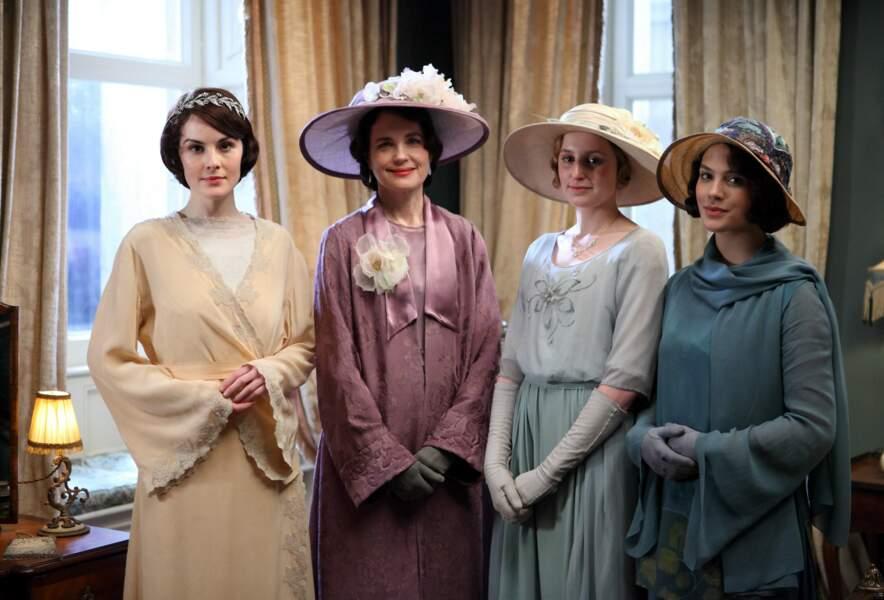 Dans Downton Abbey, ce sont souvent les femmes qui font la loi !