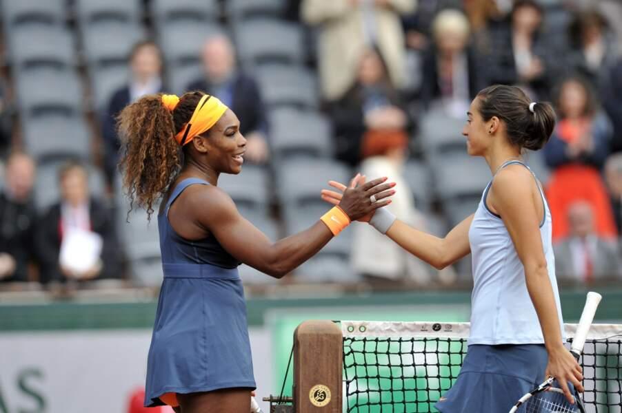 Pas de miracle en revanche pour Caroline Garcia face à Serena Williams...