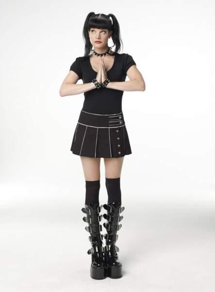 Abbie, la sympathique gothique de NCIS