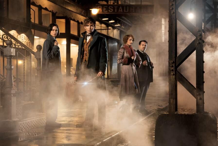 Eddie Redmayne et toute la bande des Animaux fantastiques, film dérivé de l'univers Harry Potter (16/11)