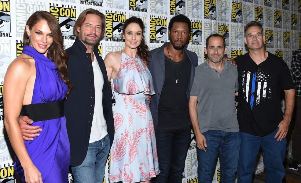 Les acteurs de la série Colony