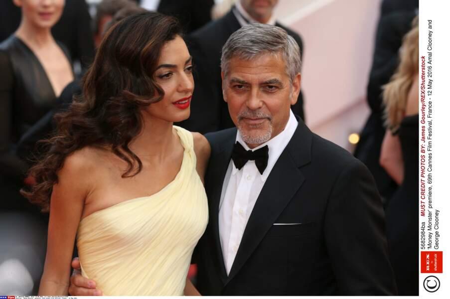 Madame et Monsieur Clooney sont très chics!
