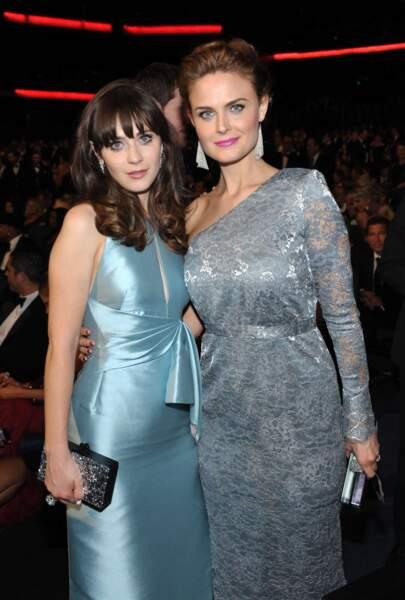 Zooey (New Girl) et Emily Deschanel (Bones) sont toutes deux actrices.