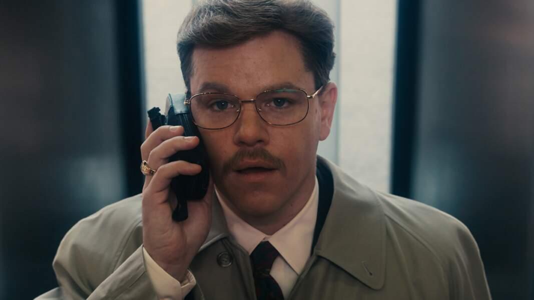 Matt Damon, vous le préférez avec ou sans moustache ?