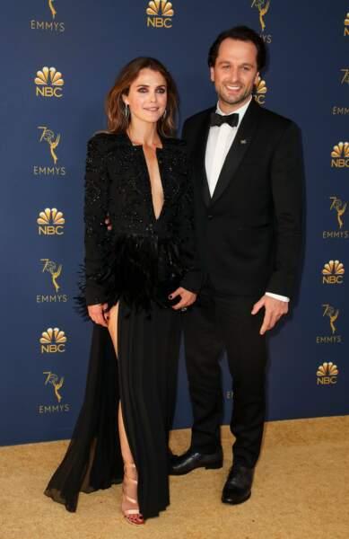 Keri Russell et Matthew Rhys, mariés dans la vie et partenaires dans The Americans. Un duo de choc !