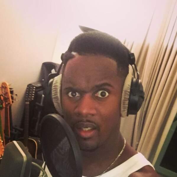 Black M, lui, était de retour en studio.