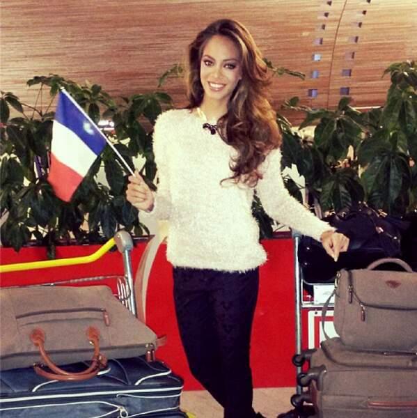 Même si la première dauphine n'a qu'un but : faire gagner la France !