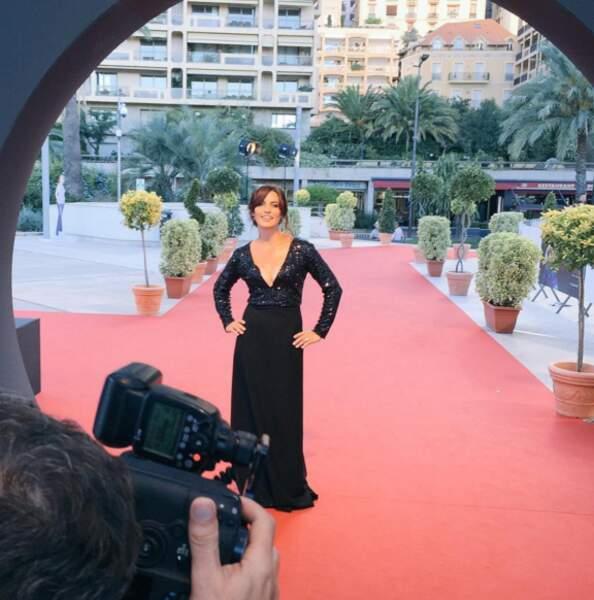 Sur le tapis rouge, Laetitia Milot est une vraie star