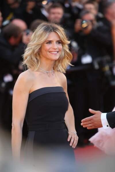 Et voici Alice Taglioni, magnifique également dans sa robe noire