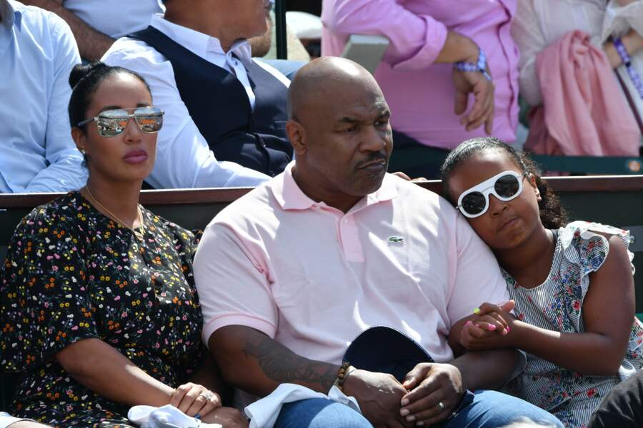 Sortie familiale pour Mike Tyson
