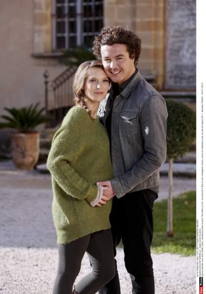 Amoureux depuis 2010, Elodie Varlet (Estelle Cantorel) et Jérémie Poppe (Romain) sont parents d'un petit Marcus
