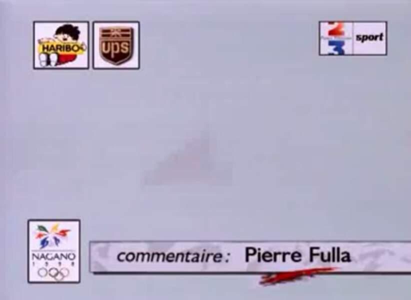 """Pierre Fulla """"ici, à Nagano"""", une voix culte..."""