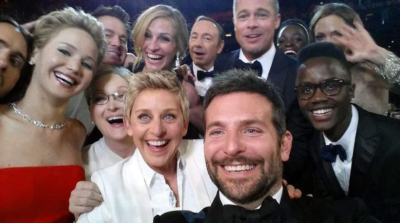 Et le plus beau selfie de la soirée est attribué à...