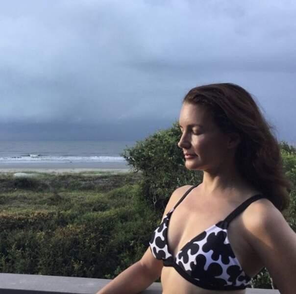Kristin Davis était elle aussi dans la team bikini.