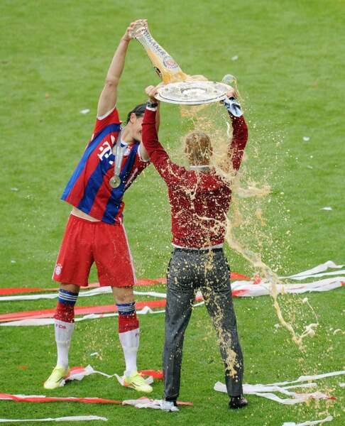 Ca tombe bien, Pep Guardiola n'avait pas eu le temps de prendre sa douche ce matin.