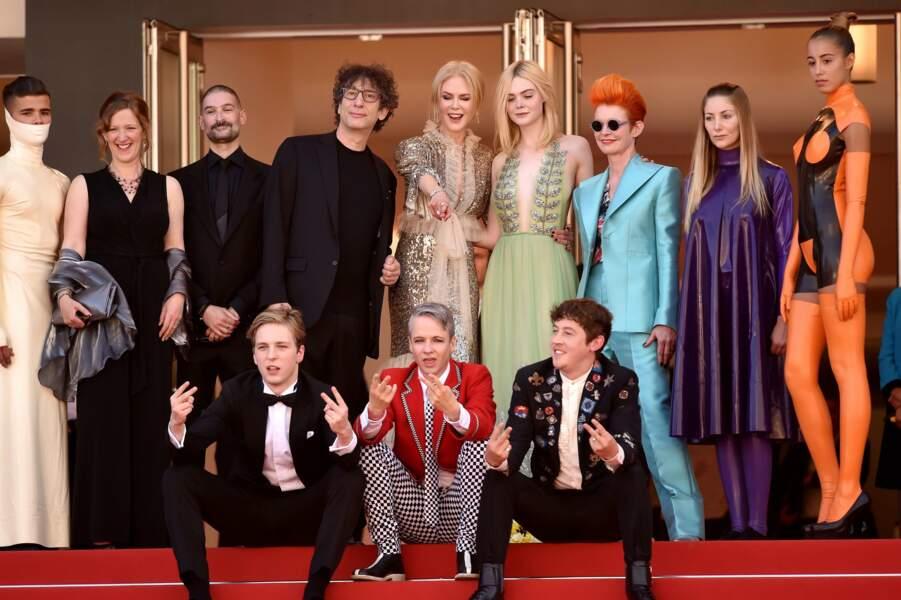 """Le casting très coloré du film """"How to talk to girls at parties"""" avec Nicole Kidman et Elle Fanning"""