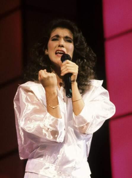 """En 1988, Céline Dion défend la Suisse avec """"Ne partez pas sans moi"""""""